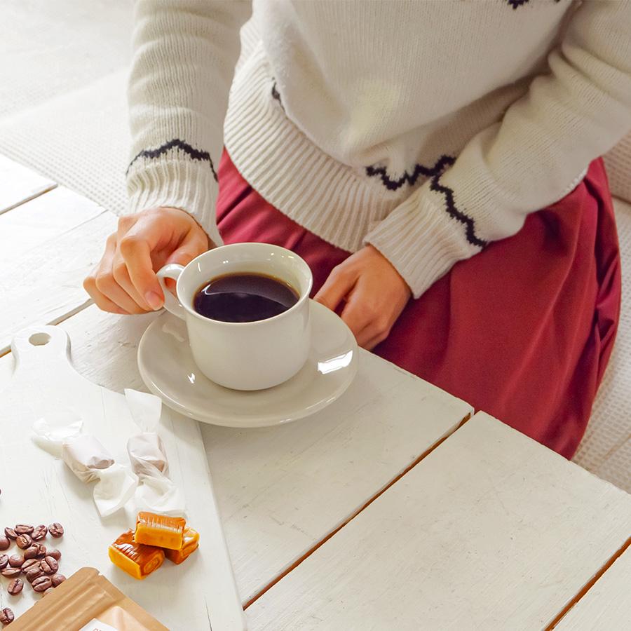 デカフェコーヒー(カフェインレス)